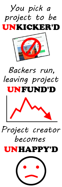 Unkicker'd, Unfund'd, Unhappy'd!